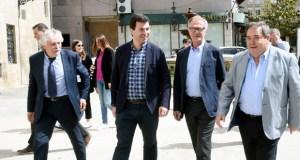 O ministro de Cultura en funcións visita o Museo Claustro Mercedario de Verín
