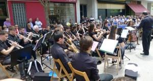 Concerto da Banda de Música do Barco o día grande da Santa Rita na vila