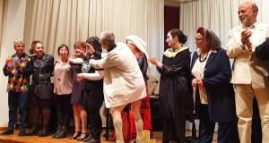 "Exitosa e divertida estrea de ""Mortos da risa"" en Trives"
