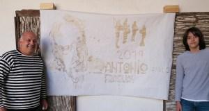 Café e creatividade valdeorresa para homenaxear a Antonio Fraguas