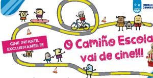 """Un premio """"de cine"""" para os participantes nos Camiños Escolares do Barco"""