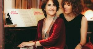 """Lucía Álvarez e Rosa Torres-Pardo desvelan os vínculos poéticos entre Lorca e Rosalía no espectáculo """"Cantares para piano y voz emocionada"""""""