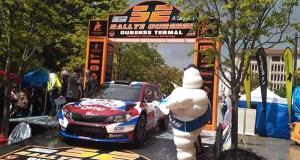 O Rallye de Ourense arranca, por terceiro ano consecutivo, no Xardín do Posío
