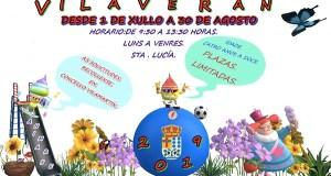 Ábrese o prazo para inscribirse no Vilaverán 2019 que se celebrará do 1 de xullo ao 30 de agosto