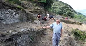 As escavacións volven ao Castro de Valencia do Sil (Vilamartín), medio século despois