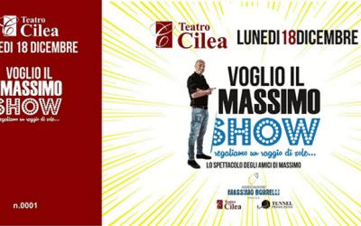 Voglio il MASSIMO: al Teatro Cilea, uniti per la ricerca
