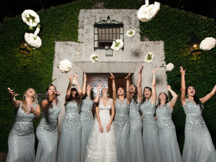 MODERN WEDDING AT THE BATH CLUB MIAMI BEACH , FL