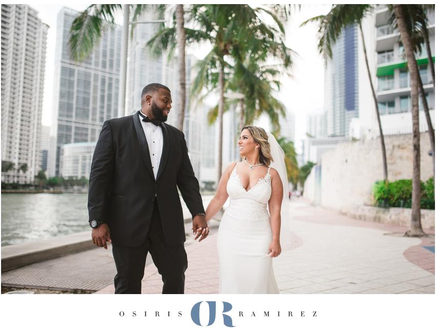 downtown miami wedding photographer