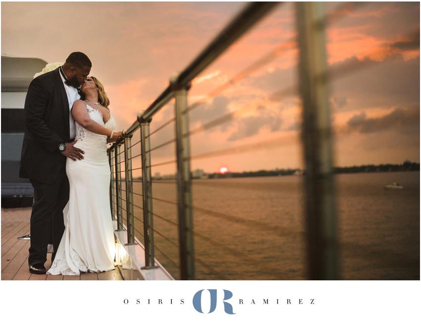 miami seafair yacht wedding photography