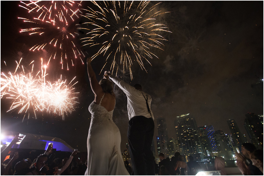 { Travis & Katrina } Miami Seafair Yacht Wedding Video Highlight film – Downtown Miami Wedding