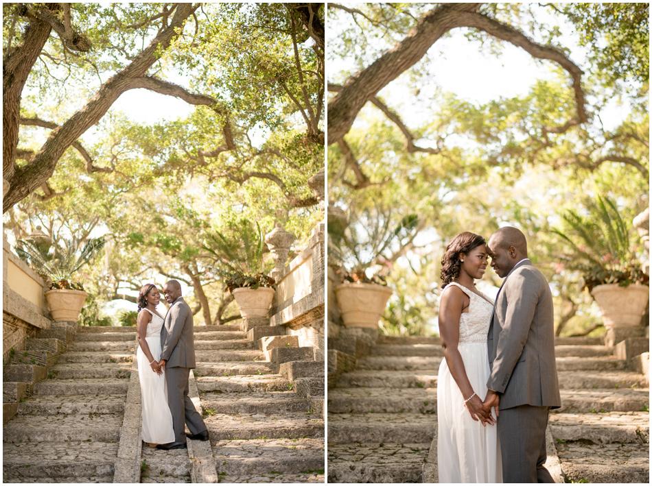 miami enVizcaya Museum & Garden Engagement Sessiongagement photography