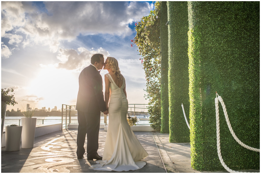 Mondrian Hotel wedding Miami Beach Wedding Photographer