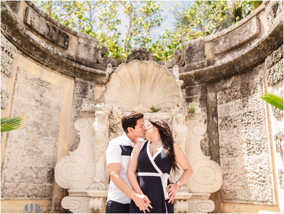 Vizcaya Engagement Photography