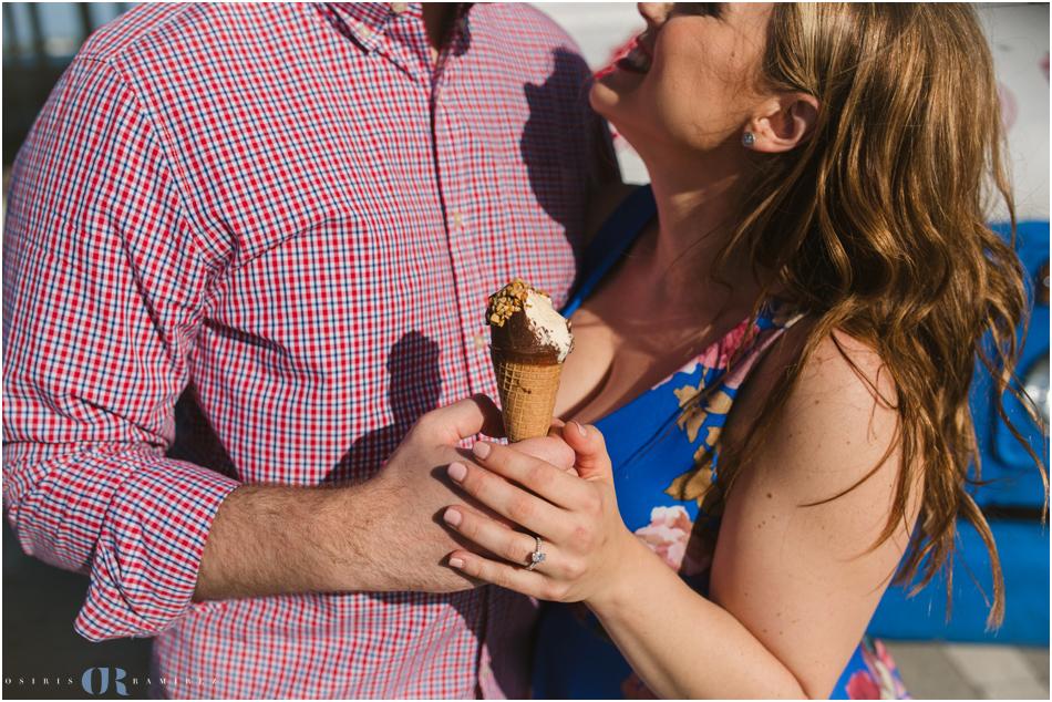 miami ice cream engagement