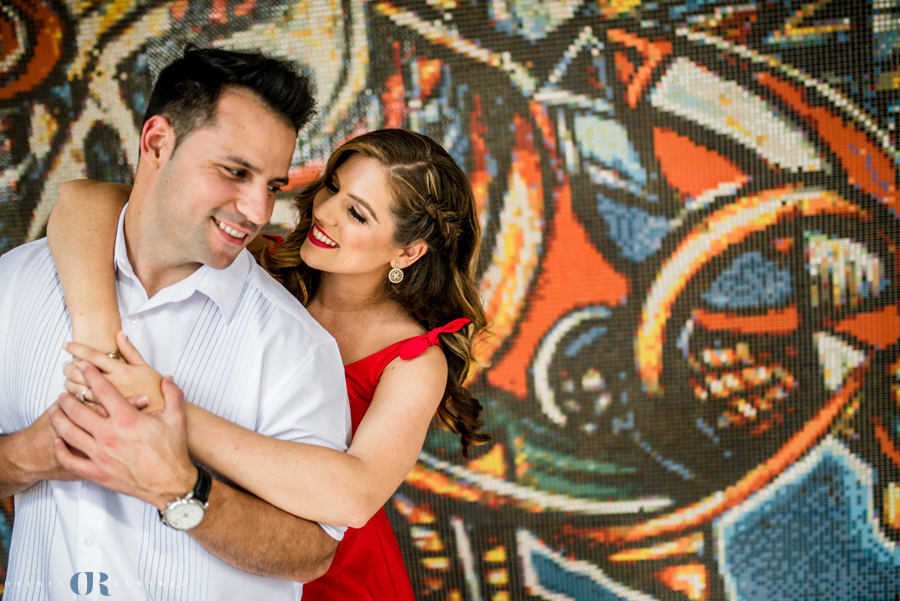 Calle Ocho Engagement Photos { Lauren & Luis }