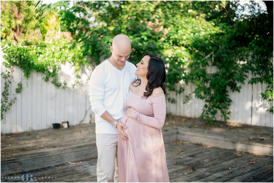 Diana & Donovan Maternity Session | Miami Maternity Photographer