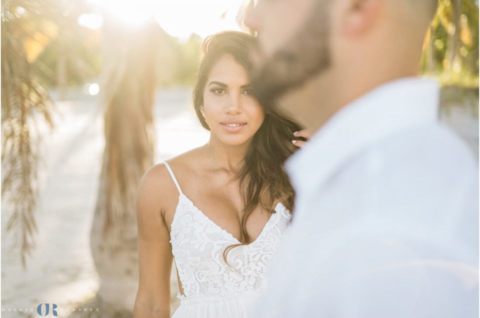 Crandon Park Key Biscayne Beach & Golf Course Engagement Photos