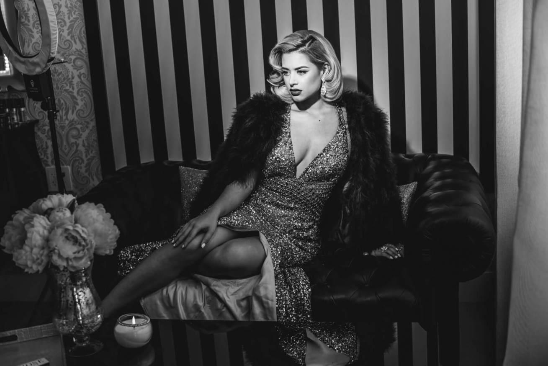 Vintage Glamour Photo Session Miami Photographer