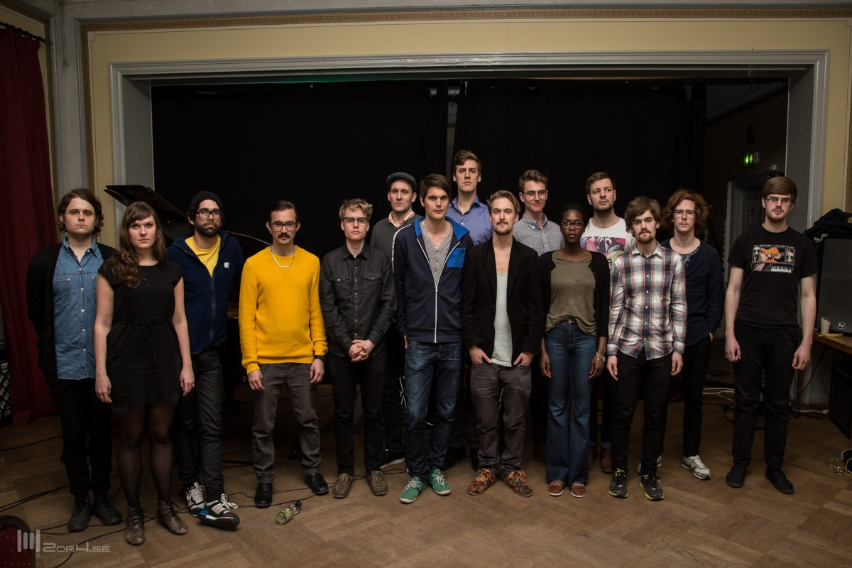 Workshop with Uppsala Jazz Collective