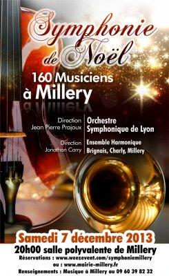 Concert de l'OSL à Millery le 7 Décembre 2013
