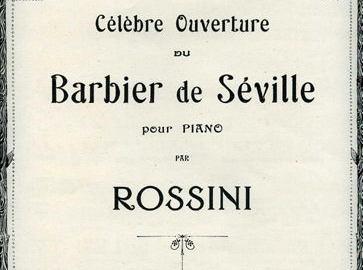 Ecoutez le Barbier de Séville joué par l'OSL en concert le 7 Décembre 2013 à Millery