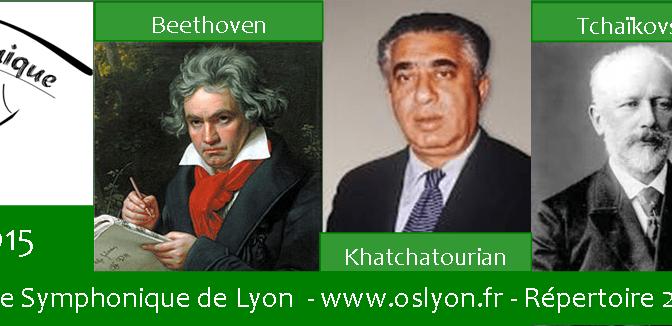 Orchestre Symphonique Lyon Répertoire 2014-2015
