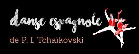 Danse espagnole du Lac des Cygnes de Tchaîkovski