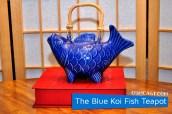 The Blue Koi Fish Teapot