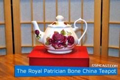 The Royal Patrician Bone China Teapot