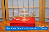The Sun's Tea Borosilicate Glass Teapot