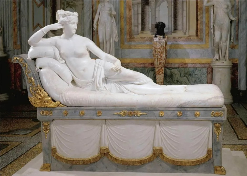 Galleria Borguese (Venus Victrix, Antonio Canova)