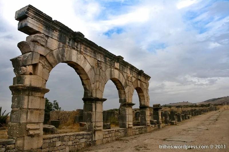 Volubilis, os romanos em Marrocos
