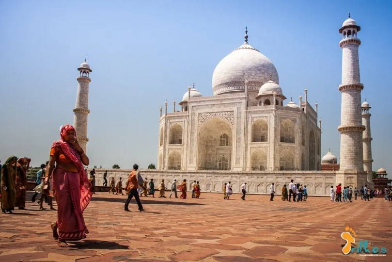 Taj Mahal another view
