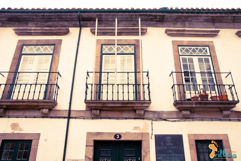 Camilo Castelo Branco, Casa dos Brocas -1