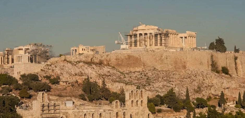 Pártenon - Acrópole - Atenas - Grécia