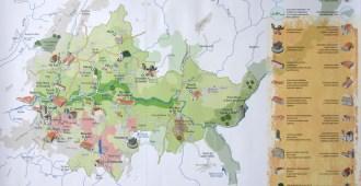 Mapa do Douro