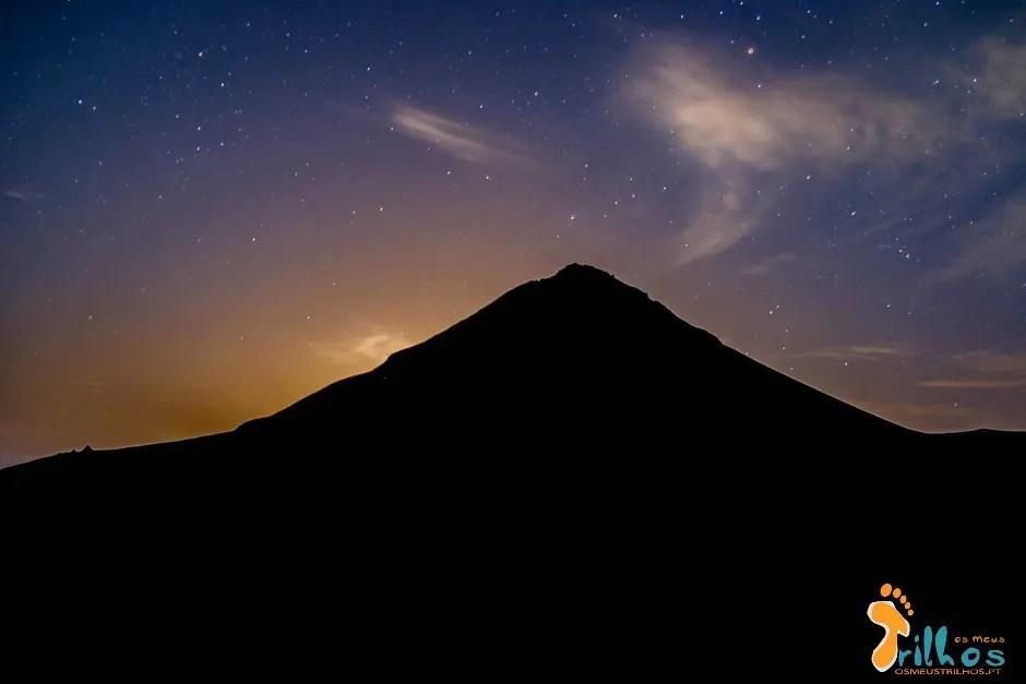 Vulcão do Fogo à Noite, Chã das Caldeiras, Ilha do Fogo