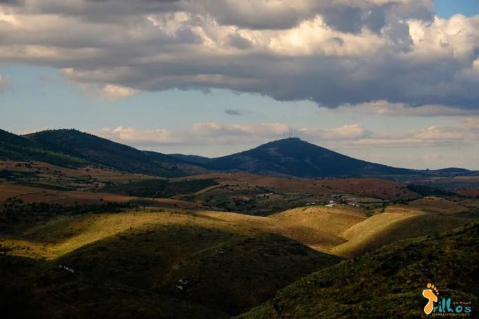 Serra da Marofa, vista desde o Bogalhal Velho, em Pinhel