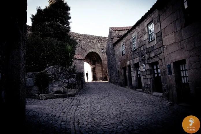 Ruas empedradas de Sortelha - Vilas Medievais no Sabugal