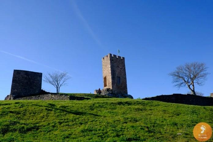 Castelo de Mogadouro - lagos do Sabor