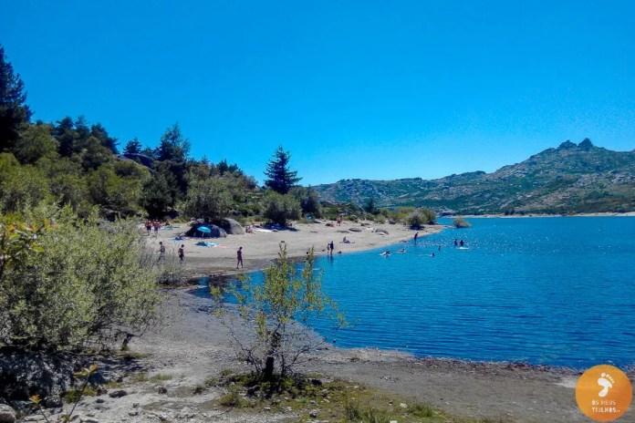 Praia Fluvial de Vale do Rossim - Praias Fluviais na Serra da Estrela