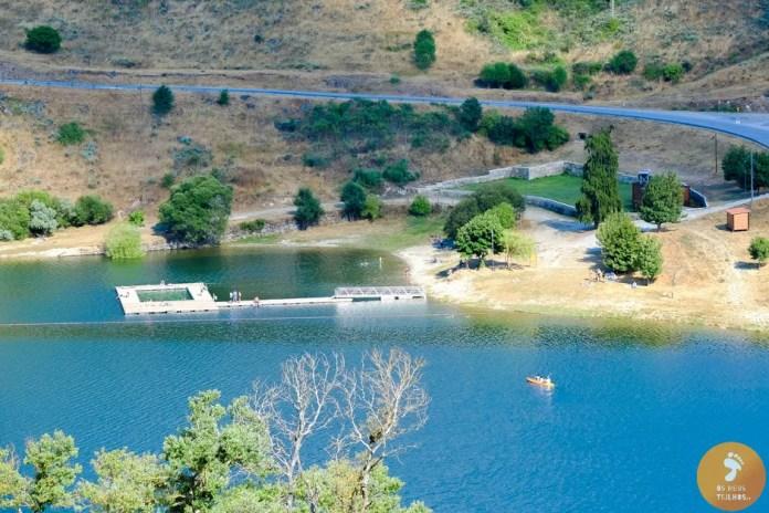 Praia Fluvial da Barragem do Caldeirão - Serra da Estrela
