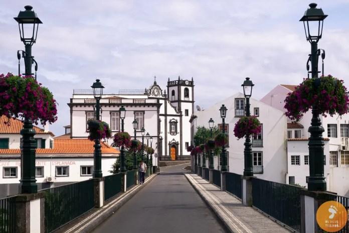 Entrada na vila de Nordeste, Ilha de São Miguel
