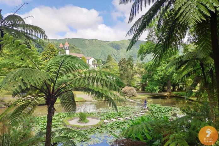 Parque Terra Nostra, nas Furnas - Ilha de São Miguel