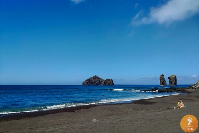 Praia de Mosteiros, em Ilha de São Miguel