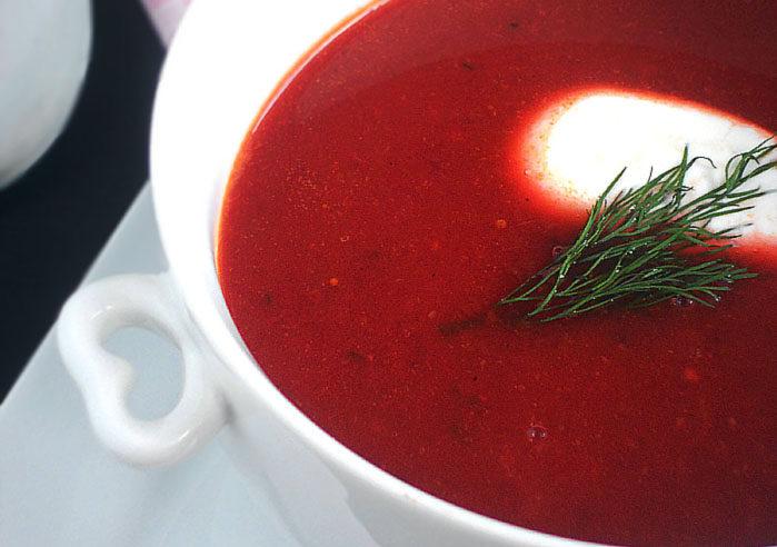 zupa krem z buraków. Przepis na barszcz