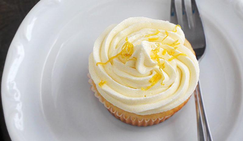 babeczki cytrynowe lemon cupcakes