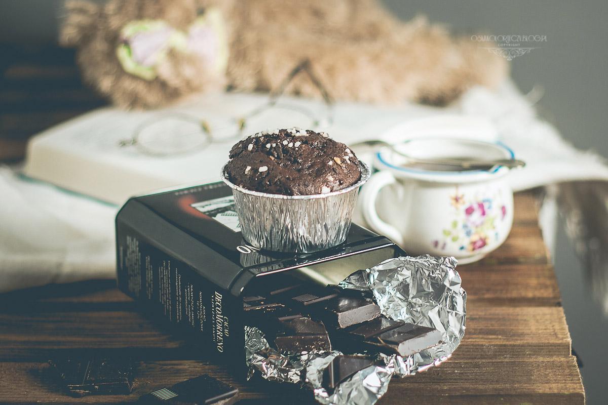 muffinki babeczki czekoladowe przepis