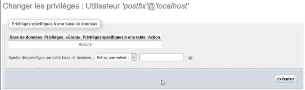 mysql pour postfix