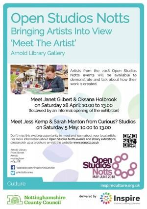 Meet the Artist - Arnold